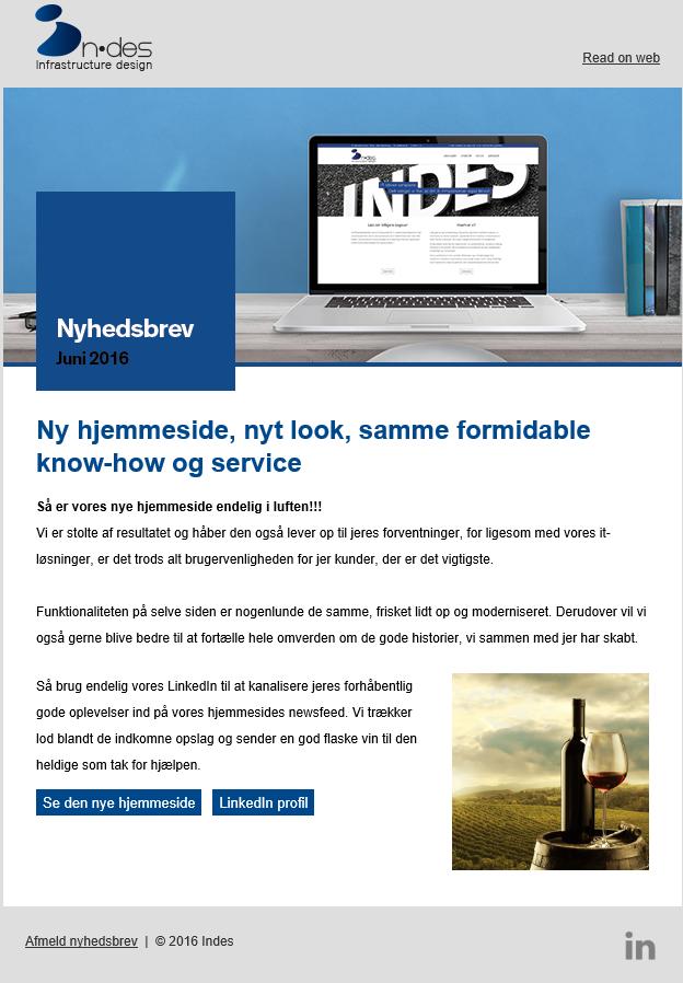 Hjemmeside-kampagne
